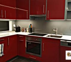 Habillage complet d'une cuisine à Martigny-Bourg